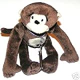 : SCHYLLING WIND-UP PLUSH TUMBLING MONKEY