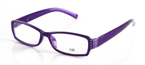 IG Frame Design Slim Sleek High Fashion Reading Glasses in P