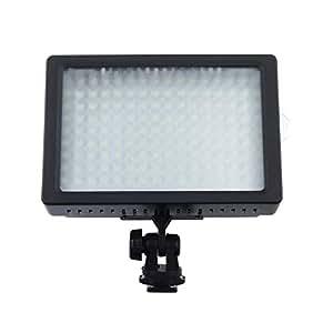 Andoer LED Video Light Lamp Panel 9.6W Dimmable for Canon Nikon DSLR Camera