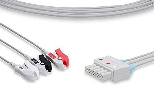 Replacement For Mindray Datascope Beneheart D6 Leadwire 3 Leads Pinch By Technical Precision