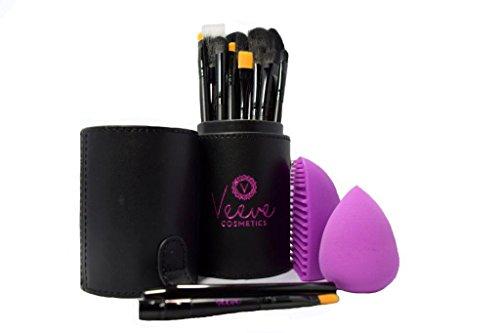 Veeve Cosmetics - Premium Professional Makeup Brushes -Set o