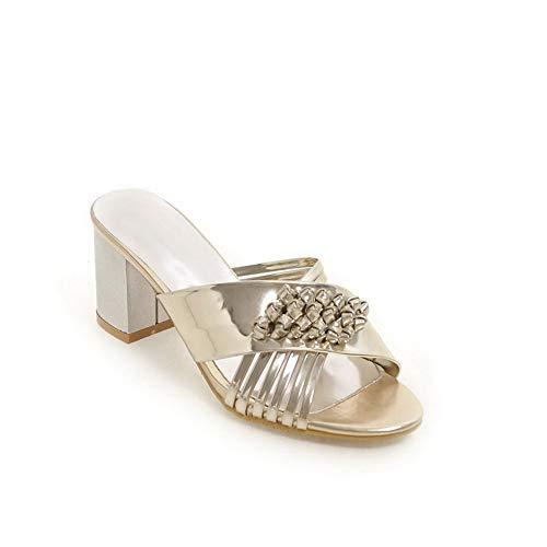Or ASL05611 Sandales Compensées 5 36 Femme doré BalaMasa gpIqwnZAg