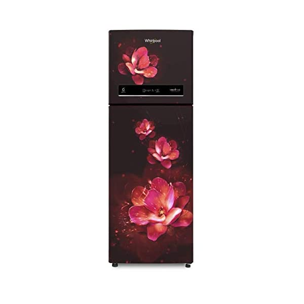 Whirlpool 265 L 3 Star Inverter Frost-Free Double Door Refrigerator (INTELLIFRESH INV CNV 278 3S, Wine Flume… 2021 August Frost-free refrigerator; 265 litres capacity Energy Rating: 3 Star Warranty: 1 year on product, 10 years on compressor