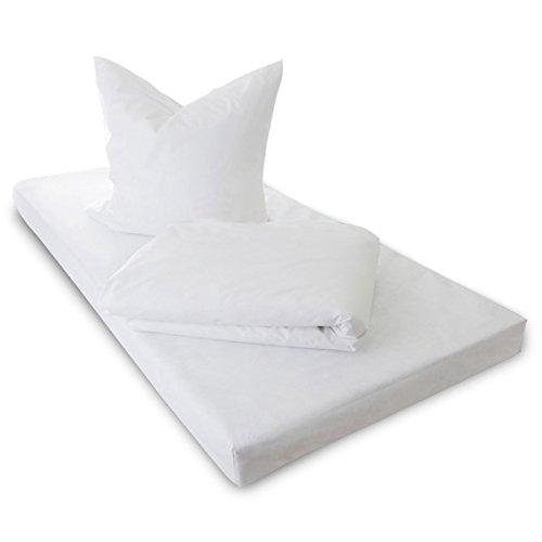 TAURO 24147 Kissenbezug Encasing Milbenkotdicht, kompakte Faserstruktur aus Mikrofilamenten, Frei von Schadstoffen, 80 x 80 cm