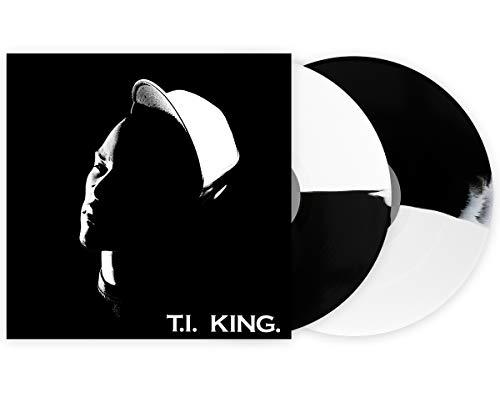 (T.I – King Limited Edition White And Black Split 2X Vinyl LP)