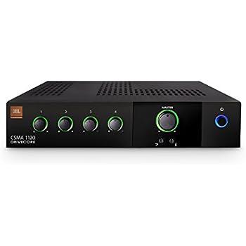 JBL CSMA1120 Commercial Series 120-Watt Powered Audio Mixer/Amplifier