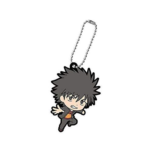 Bandai A Certain Magical Index Kamijou Touma Character Gacha Capsule Rubber Key Chain Mascot Collection Vol.3 Anime Art