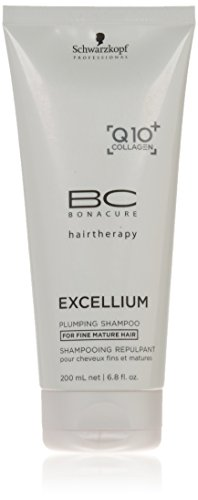 BC Bonacure EXCELLIUM Replumping Shampoo with Q10+ Omega-3, 6.76-Ounce