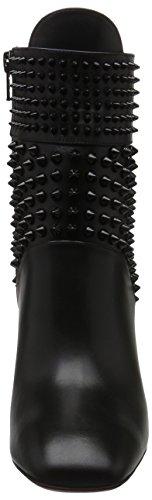 Christian Louboutin Vrouwen Calzature Praguoise Buit Korte Schacht Laarzen Zwart (zwart / Zwart)