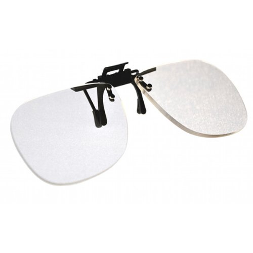 Magnifying Aids +2.0 Clip On & Flip Up Large Clear Magnif...
