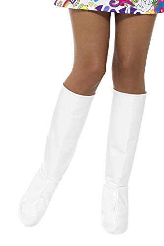 White Gogo Boot Covers -