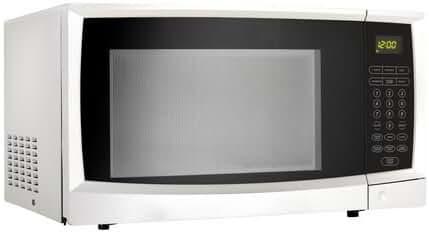 Danby 1.1 cu. ft. white capacity microwave DMW1110WDB