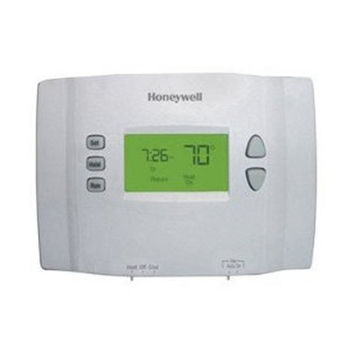 Honeywell RTH2410B1001/E1 RTH2410B Programmable Thermostat, White (Programmable Thermostat For Heat Pump With Auxiliary Heat)