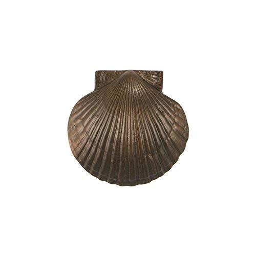 Scallop Door Knocker - Oiled Bronze (Standard ()