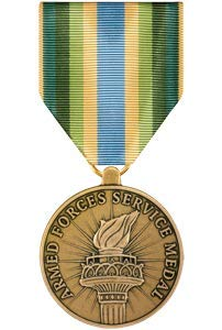 Medals of America Armed Forces Service Medal Bronze ()