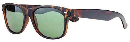 Stylle Unisex Polarized Matte Finish Retro Sunglasses for Men and Women
