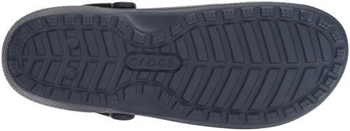 Charcoal Unisex Navy Classic Clog Crocs Lined wzxZFZq