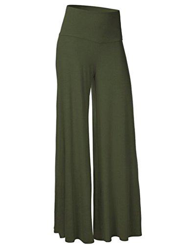 Tempo Per Zkoo Moda Piedino Pantaloni Del Esercito Comodi sport Donne Yoga Corno danza Larghi Libero Di Verde amp; rBZqBXf