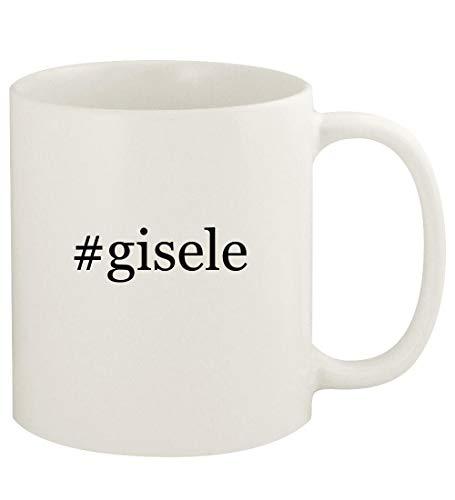 #gisele - 11oz Hashtag Ceramic White Coffee Mug Cup, ()