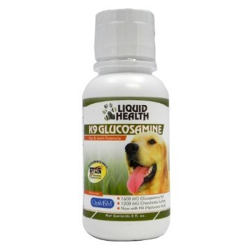 K9 Glucosamine- liquid health-8oz