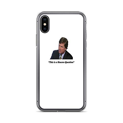 iPhone X/XS Pure Clear Case Cases Cover Tucker Carlson #16