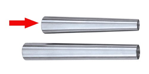 """Ateco Cream Horn - Stainless-steel - 5-1/4"""" L x 15/16"""" tapering To 5/8"""" dia"""