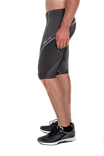 CW-X Men's Endurance Pro Shorts, Charcoal/Charcoal/Silver, Medium by CW-X (Image #9)