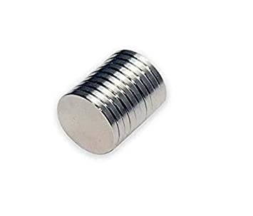 50pcs 5mm x 1mm Disque terre rare neodyme small magnet N35 Modeles de bricolage