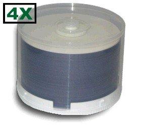 50 Princo 4X DVD-R 4.7GB White Top