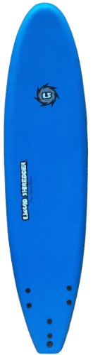 Liquid Shredder 70 FSE EPS/PE Soft Surf Board (Blue, 7-Feet)