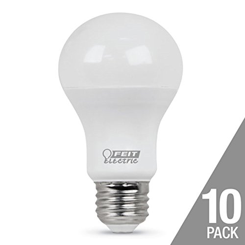 10 LED BULBS FEIT ELECTRIC 60W REPLACEMENT 800 LUMENS Daylig