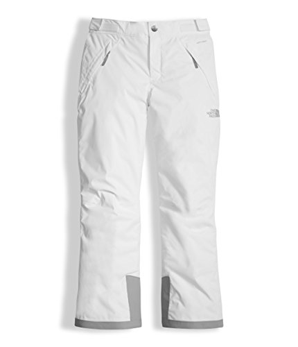 The North Face Girls' Freedom Insulated Pant, TNF White, L (Pants Girls The North Ski Face)