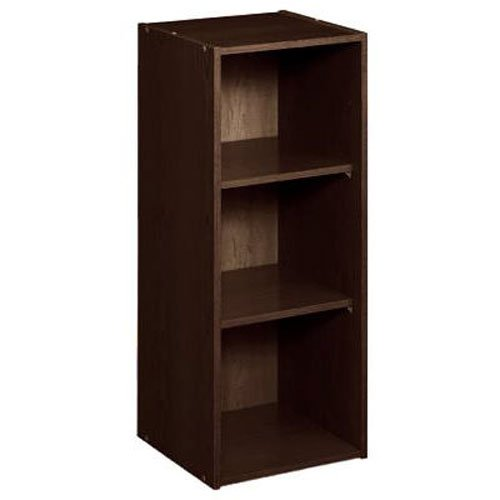ClosetMaid 8985 Stackable 3-Shelf Organizer, Espresso - 3 Drawer Shelf