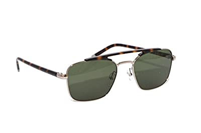 Calvin Klein Men's Ck1221s Navigator Aviator Sunglasses, Light Gold, 55 mm