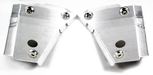 YAMAHA Front A-ARM Skid PLA, Genuine OEM ATV/Motorcycle/Watercraft/Snowmobile Part, [nn] (Snowmobile Skid Plates)