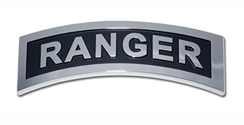 Elektroplate Army Ranger Chrome Auto Emblem