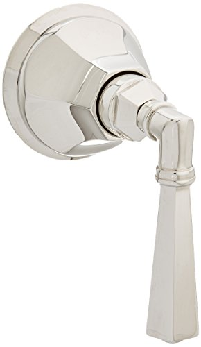 Rohl A4812LMPNTO Palladian Trim Package Only No Rough to Volume Control with Palladian Metal Lever, Polished Nickel