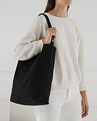 BAGGU Duck Bag Canvas Tote, Essential Everyday Tote, Spacious and Roomy