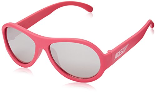 Aces - Fueled by Babiators Aviator sunglasses, Popstar Pink with Mirrored - Sunglasses Kids Buy