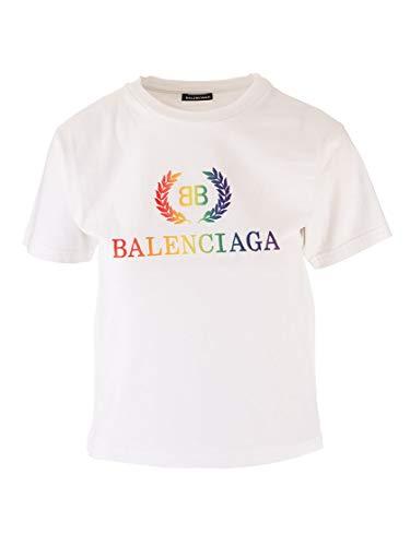 Balenciaga Luxury Fashion Boys 556155TEV879044 Beige T-Shirt | Fall Winter 19