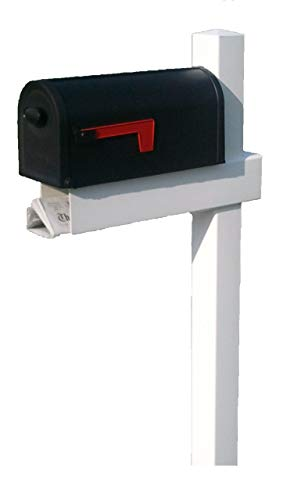 Handy Post 54-in x 24-in White Vinyl Mailbox Post Sleeve