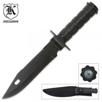 Military Survival Knife AND Compass, Outdoor Stuffs