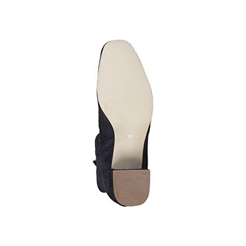 V 1969 - NOEMIE_NIGHT Stivaletti Donna Zip Laterali Tacco: 5 cm 100% VERA PELLE Scamosciato