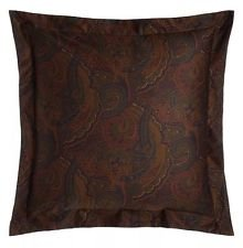 Euro Paisley Pillow Sham - 1