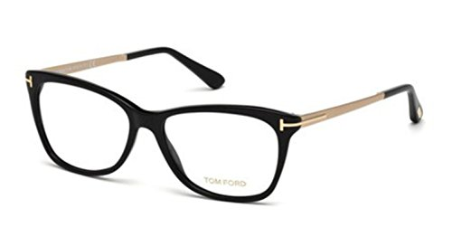 Tom Ford Eyeglasses TF 5353 Eyeglasses 001 Black 54mm