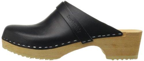 black Husband Black Women's Flat Hasbeens Sandal 01 Swedish nwCFHqOw