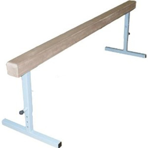 The Beam Store Adjustable Height 8 Feet Tan Suede Balance