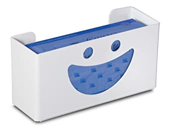 """TrippNT 50827 Priced Right Single Glove Box Holder with Smiley Face, 11 """" Width x 6"""" Height x 4"""" Depth"""