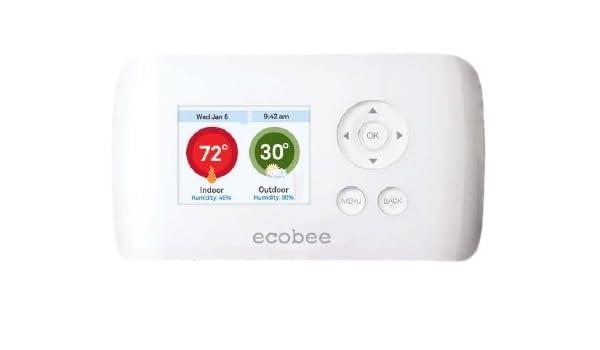 ecobee Smart si termostato 2 heat-2 Cool con pantalla táctil a todo color: Amazon.es: Bricolaje y herramientas