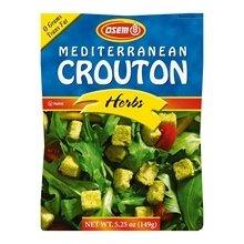 OSEM CROUTON MEDTRRNN HERB, 5.25 OZ